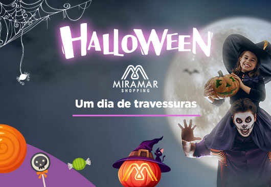 HALLOWEEN NO MIRAMAR SHOPPING